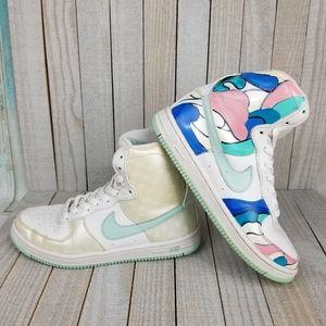 Custom Nike Air Feather High Size 6
